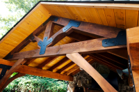 Boards & Beams Pavilion Kit Timber Framed