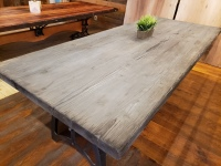 Boards & Beams Silver Grey Doug Fir table Reclaimed