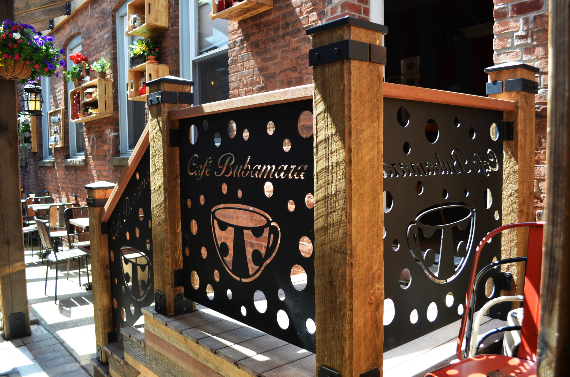 Cafe Bubamara Boards & Beams Ironworks